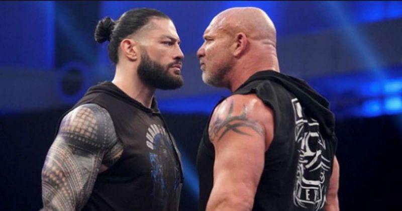 Roman Reigns vs Goldberg was supposed to headline WrestleMania 36