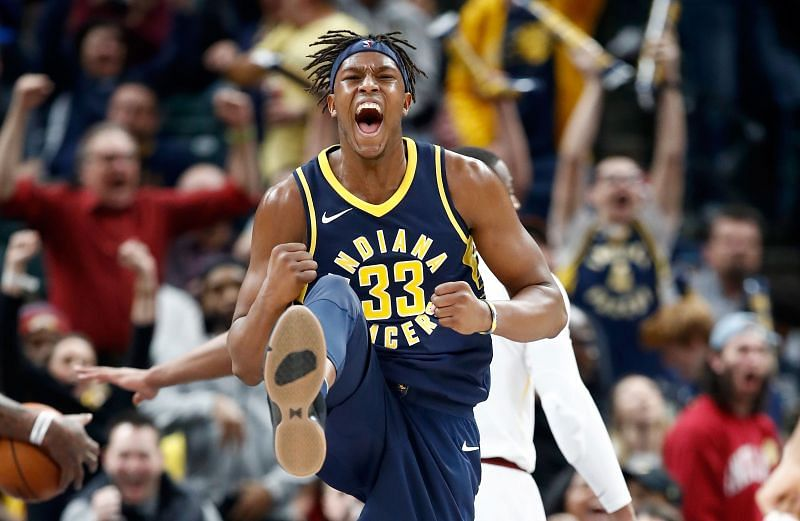 Myles Turner could be on the move this off-season