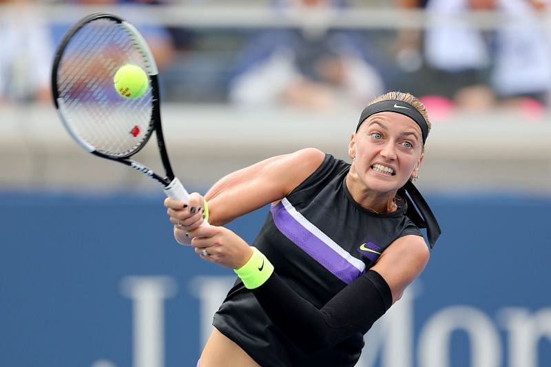 Petra Kvitova will look to dictate using her strong groundstrokes.