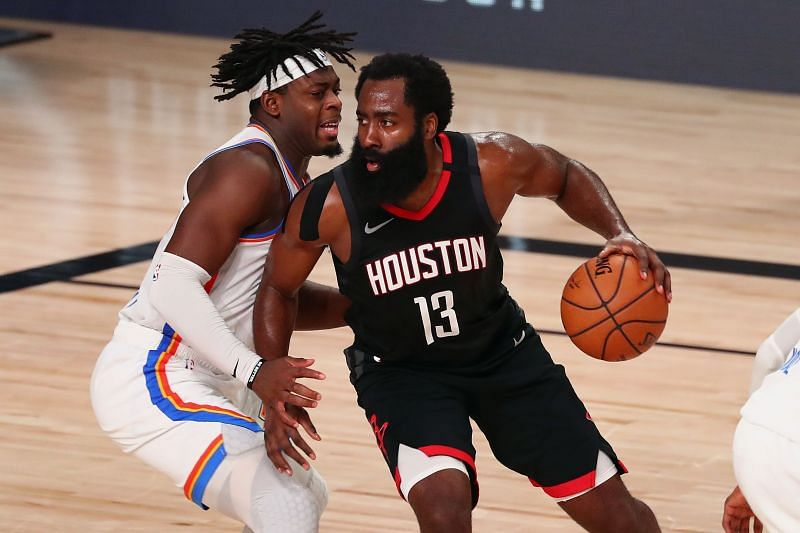Lu Dort and James Harden played out an intense series in the first round of the NBA Playoffs