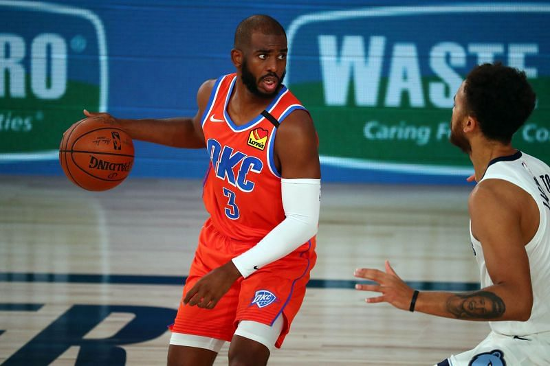 Chris Paul averaged 17.6 points per game during the 2019-20 NBA season