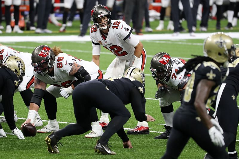 Tampa Bay Buccaneers QB Tom Brady will be looking to bounce back against the Carolina Panthers