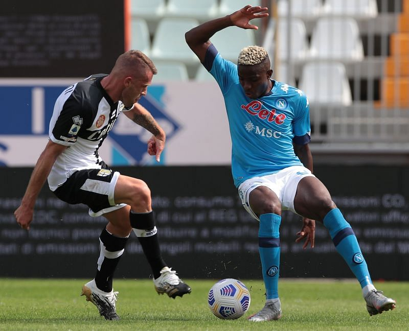 Victor Osimhen has joined Napoli in a big-money move.