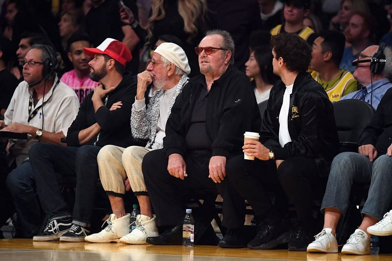 Jack Nicholson has been one of the most loyal LA Lakers fans