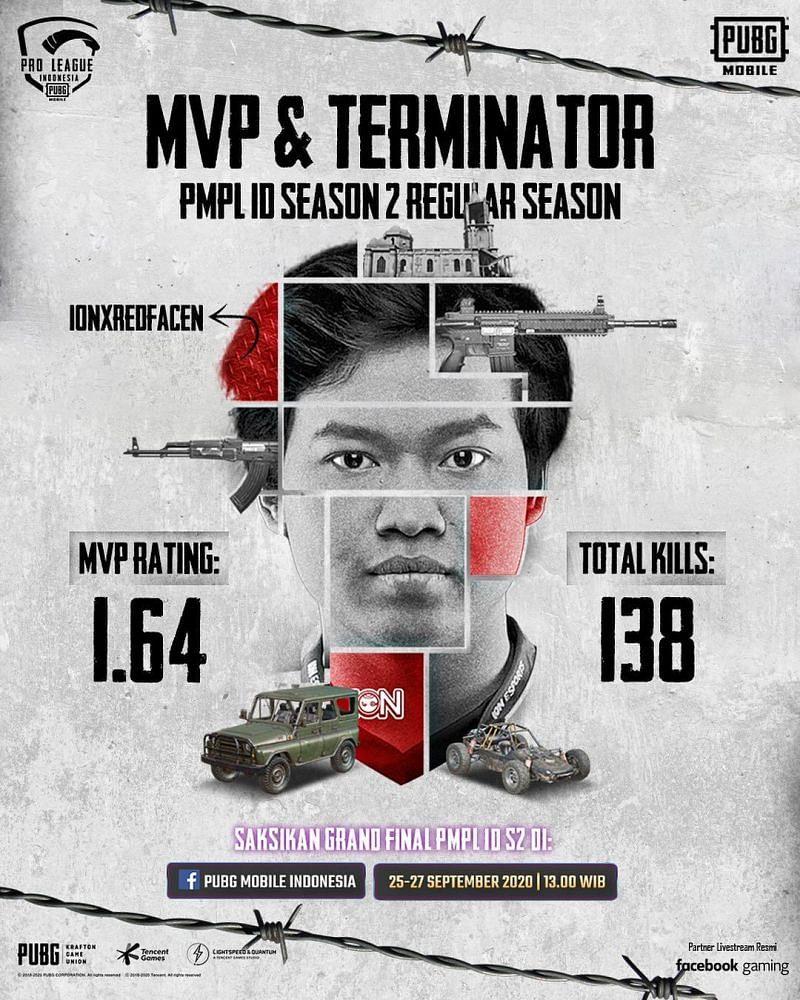 MVP of regular season