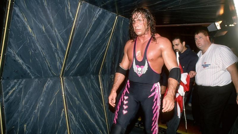 Bret Hart is a five-time WWE Champion