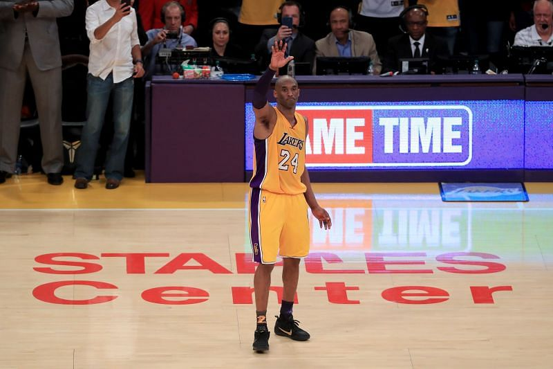 Kobe Bryant won 5 NBA championships with the LA Lakers