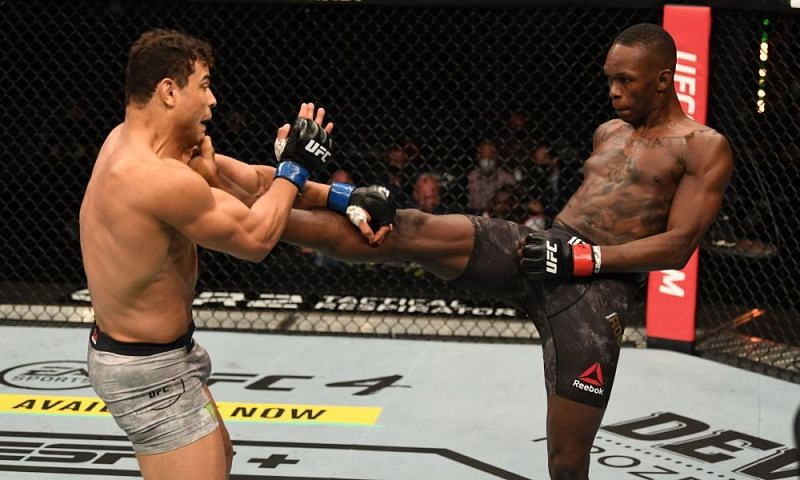 Israel Adesanya demolished Paulo Costa to retain his UFC Middleweight title last night