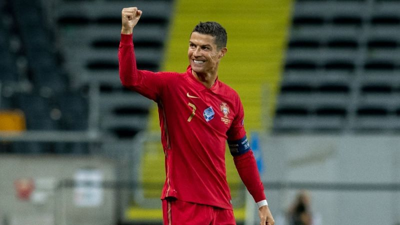 Ronaldo is now on 101 goals for Portugal, just eight behind Ali Daei