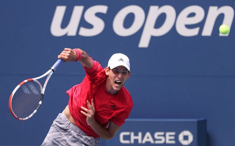 Dominic Thiem at the 2020 US Open