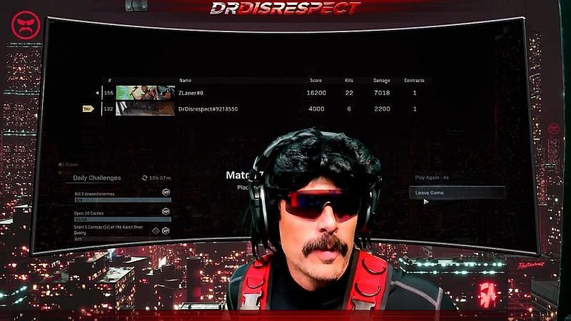 Image Credits: Dr DisRespect YouTube