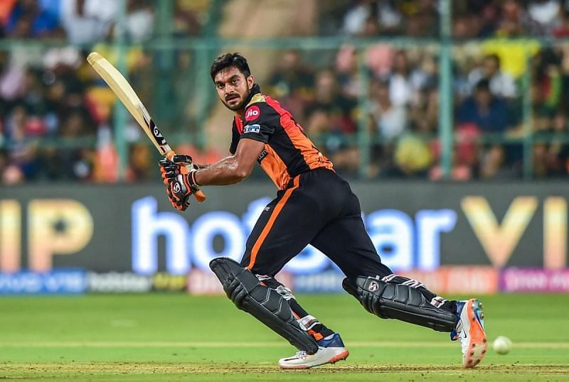 Vijay Shankar is likely to bat in the top 4 in IPL 2020