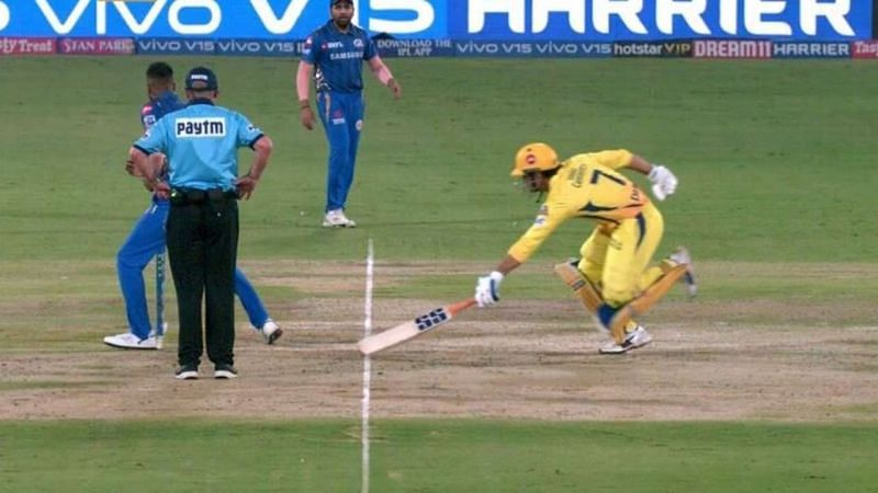 MS Dhoni was controversially run out in the 2019 IPL final.