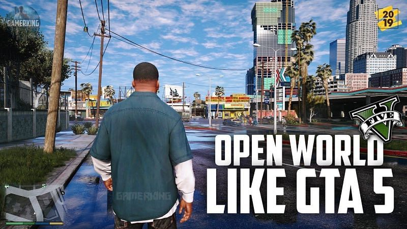 Best open-world Android games like GTA 5. Image: GamerKing (YouTube).