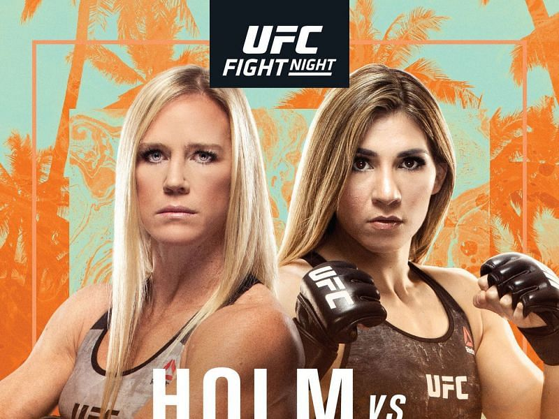 Holly Holm faces Irene Aldana in this weekend