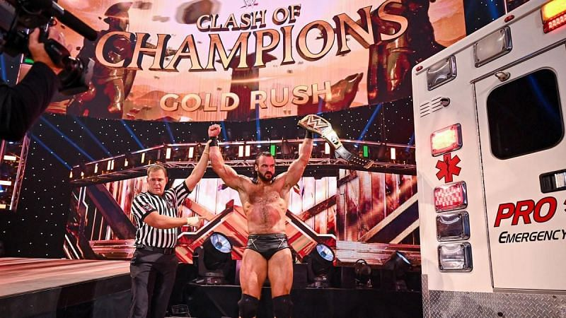 The WWE Champion prevailed at Clash of Champions