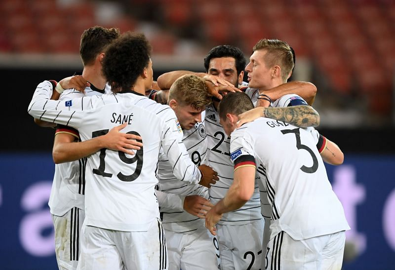 Germany remain winless in their UEFA Nations League history