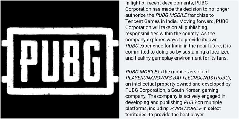 PUBG Corporation takes over from Tencent as publisher (Image Credits: PUBG Corporation)