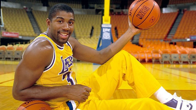 Magic Johnson became the face of the NBA in the 1980s [Credit: Fox Sports]