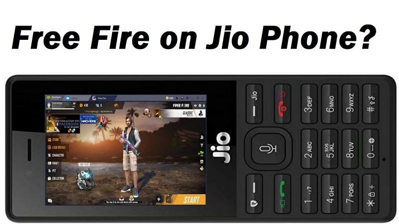 Playing the Free Fire game online on Jio phone is fake (Image Credits: Skd Technical / YouTube)