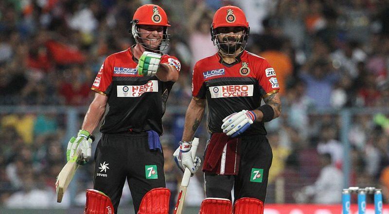 Sunil Gavaskar wants Virat Kohli and AB de Villiers to open the innings (Image Credits: IPLT20.com)