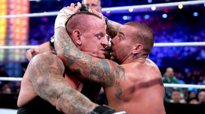 The Undertaker and CM Punk faced each other at WrestleMania 29