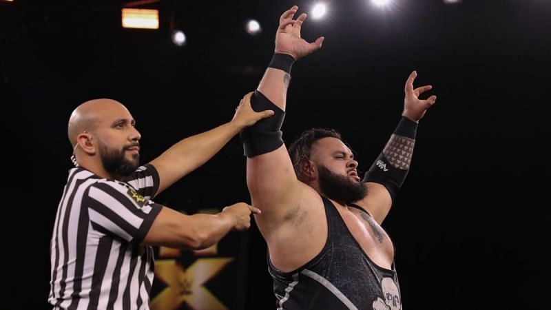 Bronson Reed was in the NXT North American Championship ladder match