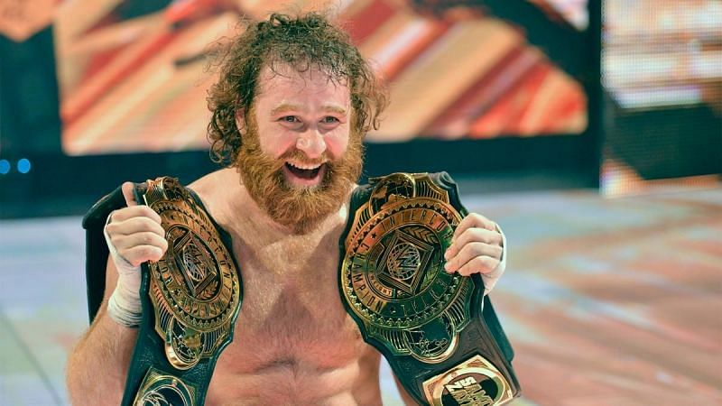 Sami Zayn is the only title change of the night at WWE Clash of Champions