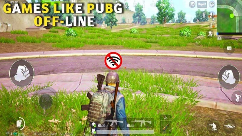 Best offline games like PUBG for Android smartphones (Image Credits: David Games, YouTube).