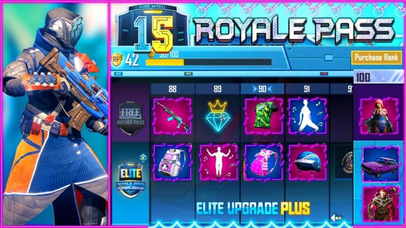 PUBG Mobile Season 15 Royale Pass Rewards (Image Credits: Funny Hunny YT)