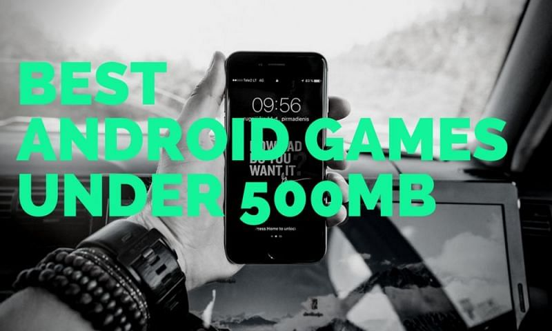 There are a number of decent Android games that are under 500 MB in size (Image Courtesy: Slashinfo)