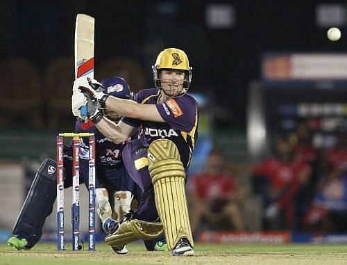 Eoin Morgan was bought by KKR during the 2011 IPL auction