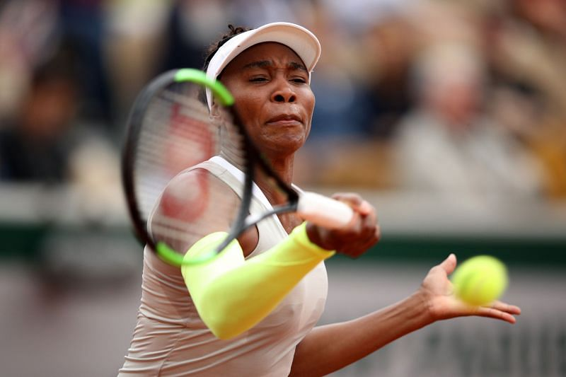 Venus Williams at the 2019 French Open at Roland Garros