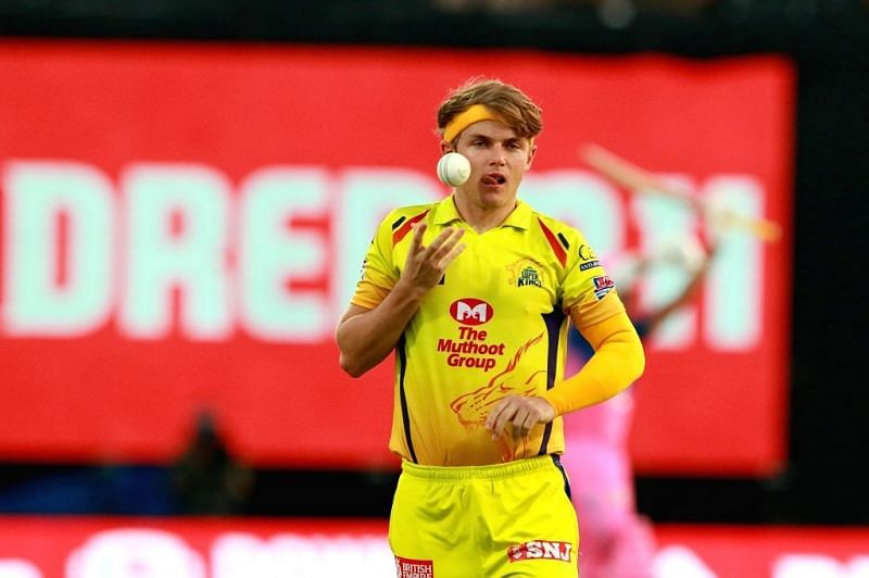 Sam Curran will be the new 'Purple Cap' holder, albeit for a few hours (Image Credits: Prokerala)