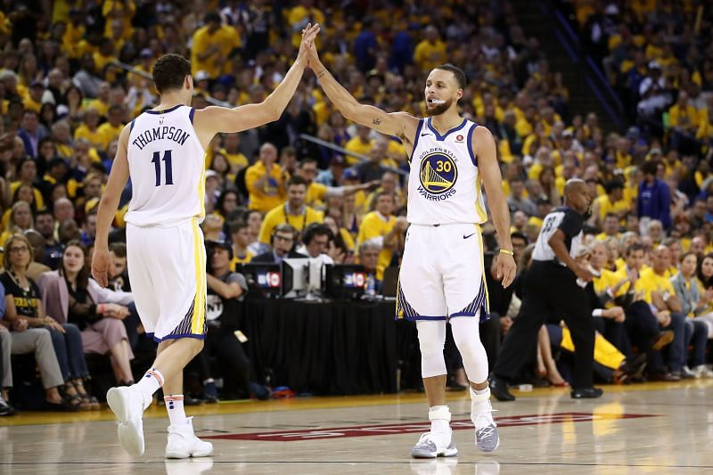 Who will we see playing alongside Klay Thompson and Steph Curry next year?