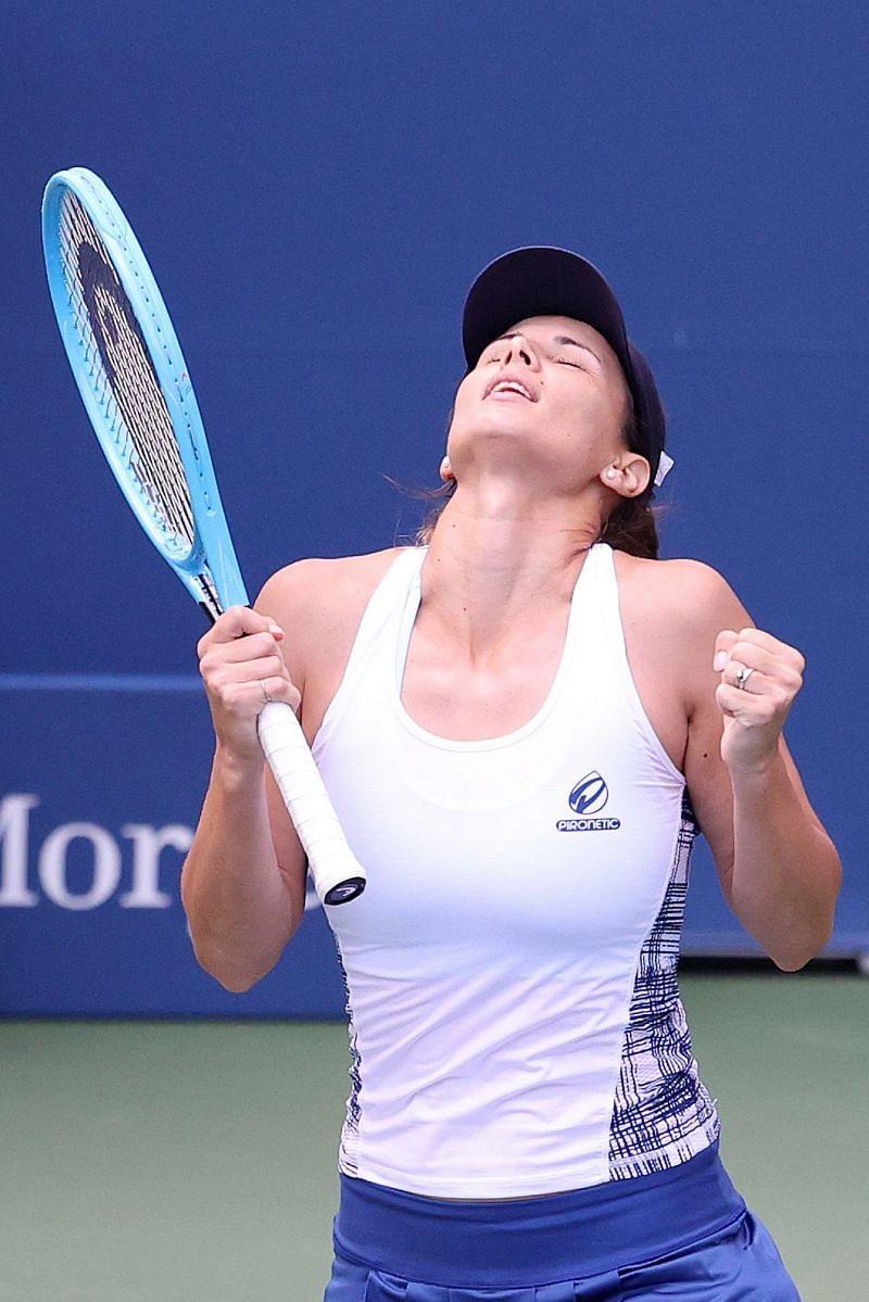 Tsvetana Pironkova at the 2020 US Open