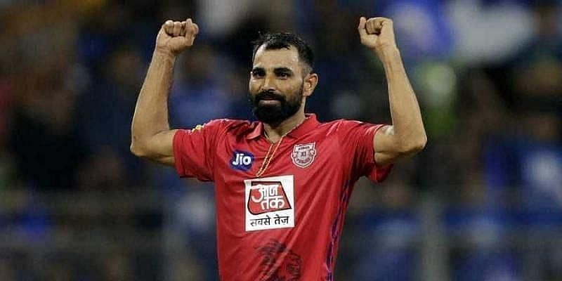 Mohammed Shami would have to shoulder the responsibility of the KXIP seam attack in IPL 2020