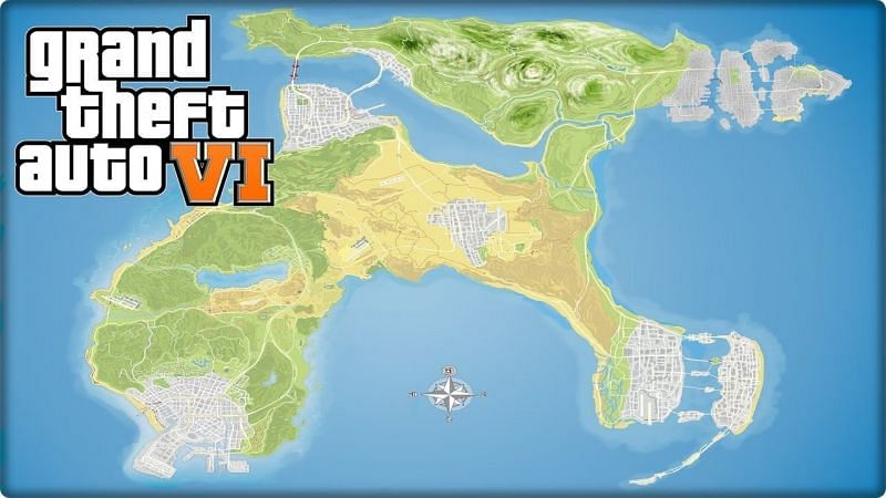 GTA 6 an-made maps (Image Credits: Pinterest)