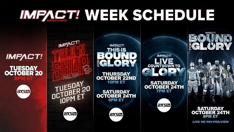 AXS TV announces the first ever Impact week for their network.