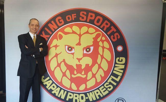 NJPW President and CEO Harold Meij announces his resignation today.