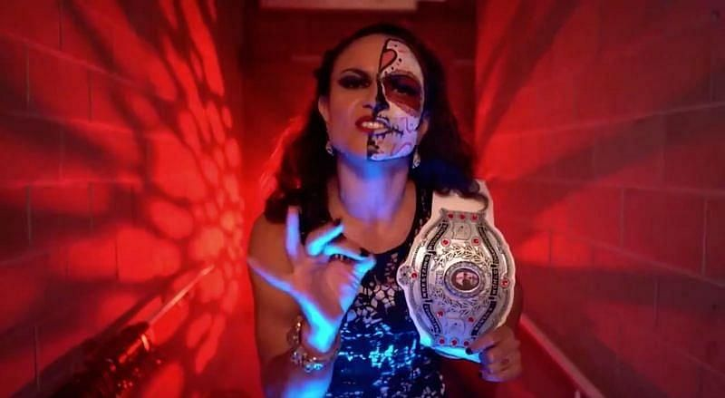 Thunder Rosa is a big part of AEW now and still the NWA Women