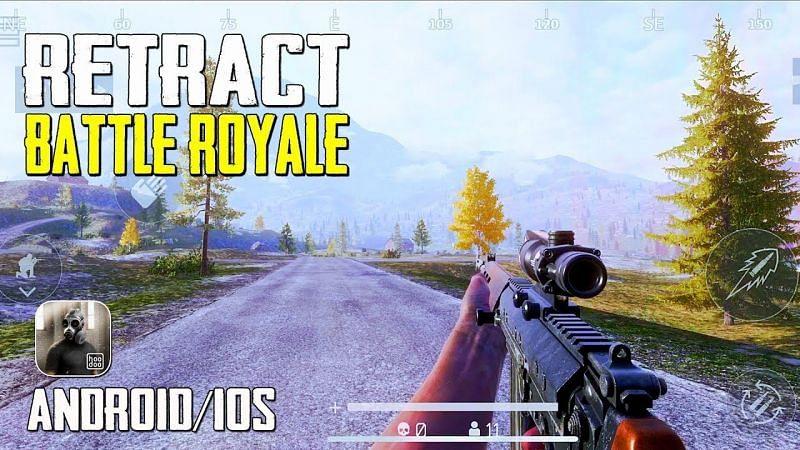 Retract: Battle Royale. Image: Gaming Mobile (YouTube).