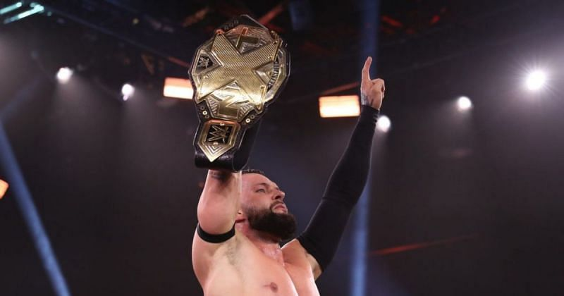 The winner of the match will face Finn Balor at TakeOver.