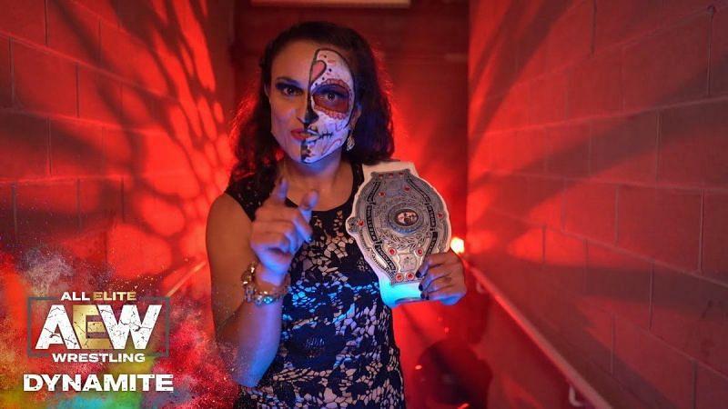Thunder Rosa is the current NWA World Women