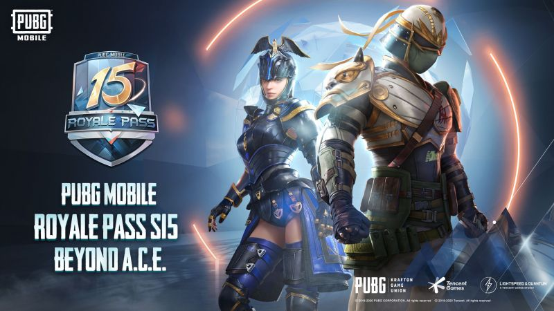 PUBG Mobile Season 15 Royale Pass 1-100 RP rewards (Image Credit: PUBG Mobile / Discord)