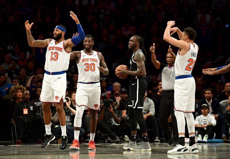 Nobody on the New York Knicks