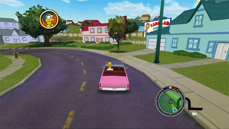 Simpsons Hit and Run (Image credits: GamingBolt)