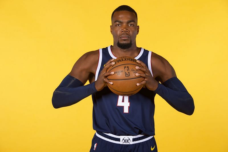 Paul Millsap can certainly hit a three - but not to this extent!