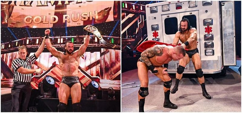 ड्रू मैकइंटायर ने रैंडी ऑर्टन को हराकर WWE चैंपियनशिप का सफलतापूर्वक बचाव किया