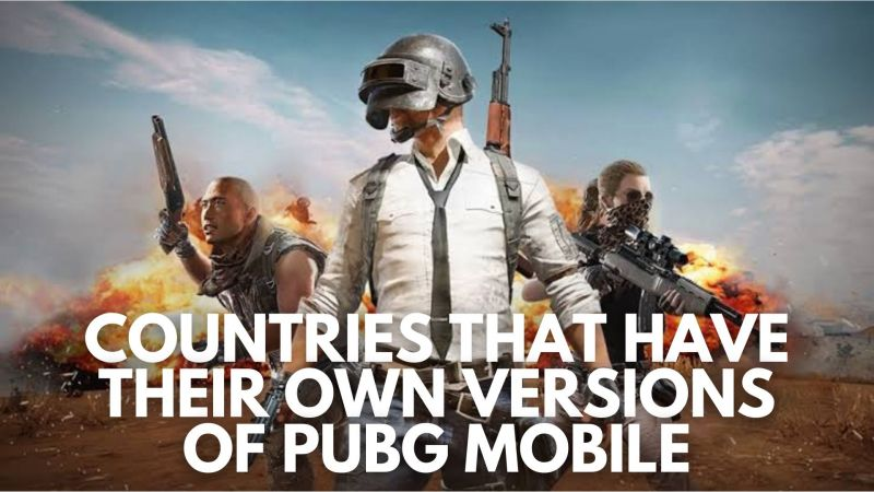 A look at the countries that have their own versions of PUBG Mobile